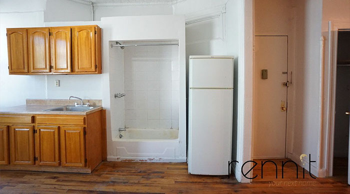 This $1,650 A Month New York Apartment Has A Shower In The Kitchen And People See Perks Of Living Here