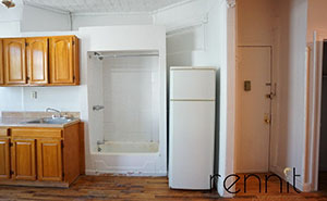 This $1,650 A Month New York Apartment Has A Shower In The Kitchen And People Have Mixed Feelings About It