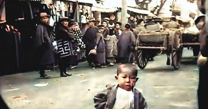 This Guy Upscaled Archival Footage of Japan From 1913-1915 To 4K 60 FPS