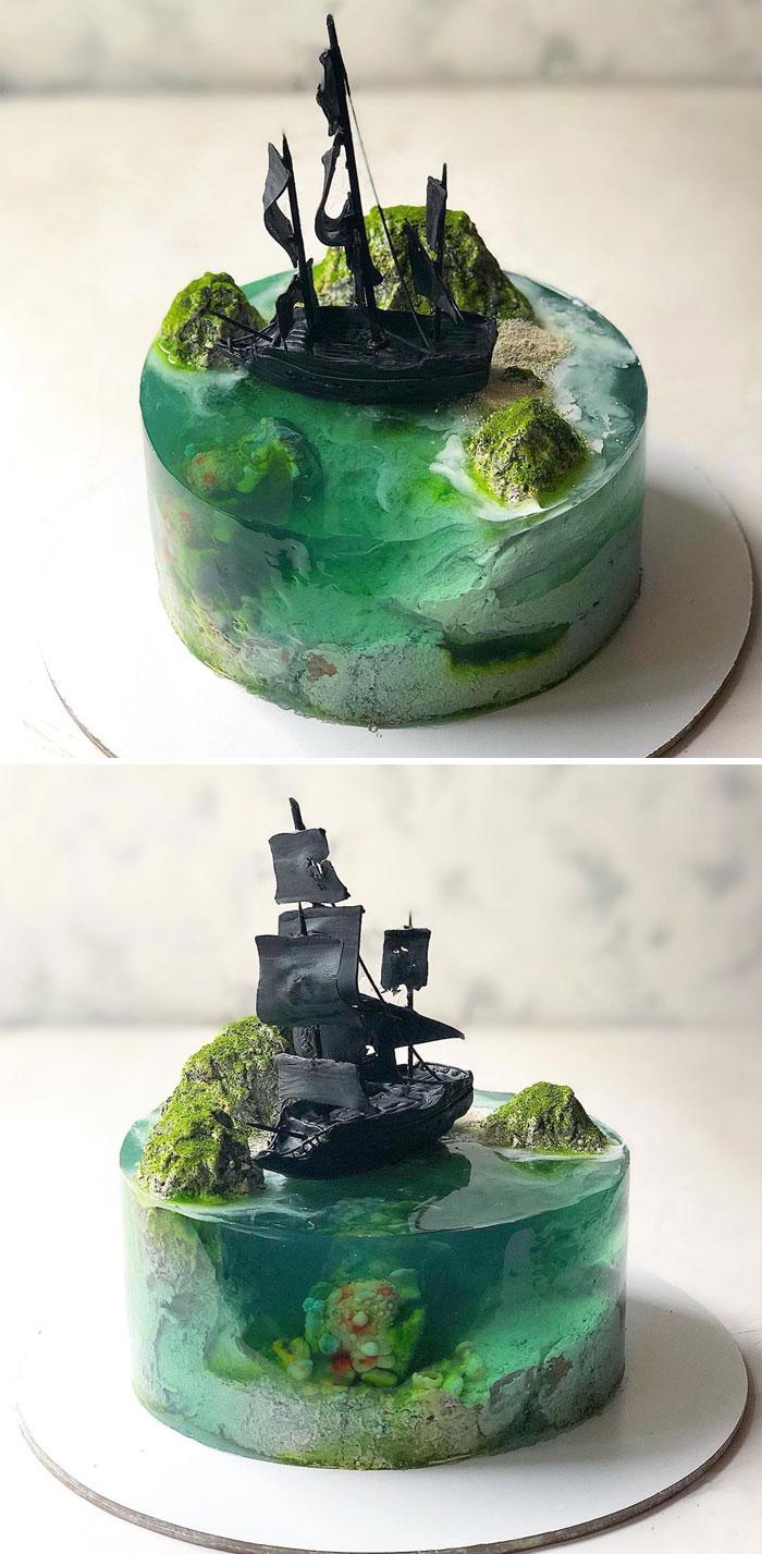 Paradise-Island-Cake-Art