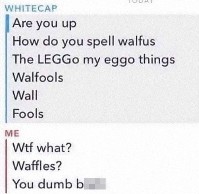 Leggo My Eggo