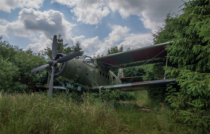 I Found An Abandoned Biplane In The Bushes In Northern Poland (11 Pics)