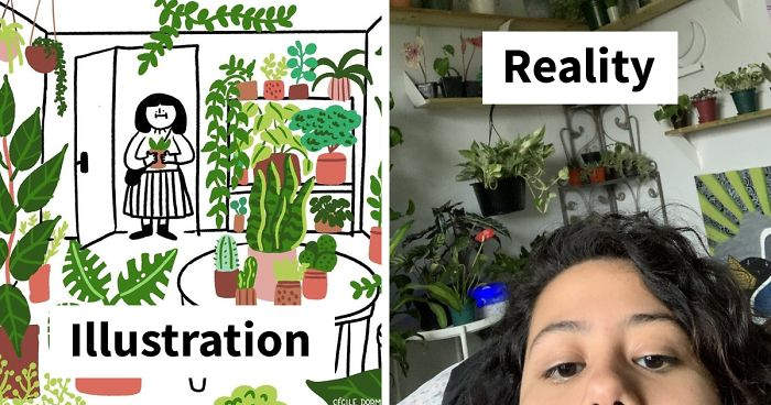 People Are Saying This Illustration About Plants Is So True, And Post Pics To Prove It (36 Pics)