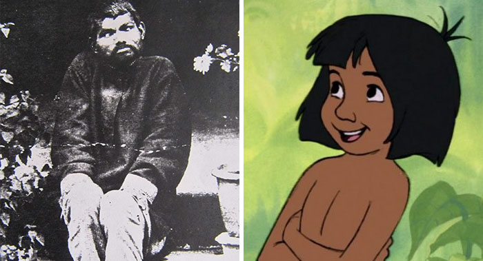 Meet The Real-Life Mowgli, The Boy Who In 1872 Was Found Living In Jungle