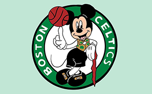 This Artist Reimagines NBA Logos With Disney Characters (30 Pics)