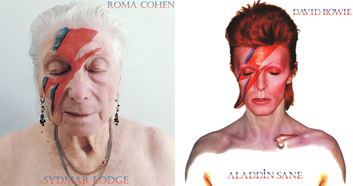 Senior Care Home Residents Are Keeping Busy Under Lockdown By Recreating Covers Of Iconic Music Albums (12 Photos)