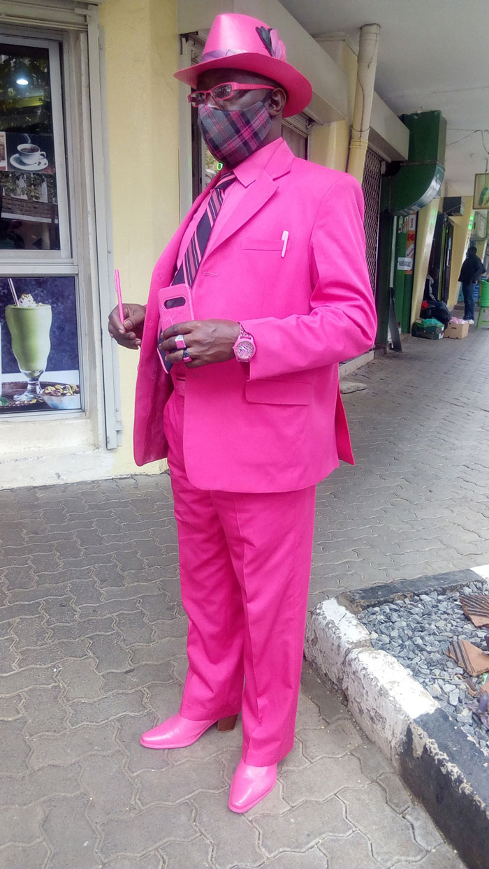 Meet James Maina Mwangi, The Self-Proclaimed Most Stylish Man In Africa If Not The World (32 Pics)