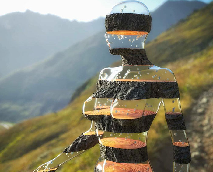 86 Bizarre Surrealistic 3D Human Sculptures By Marcus Conge