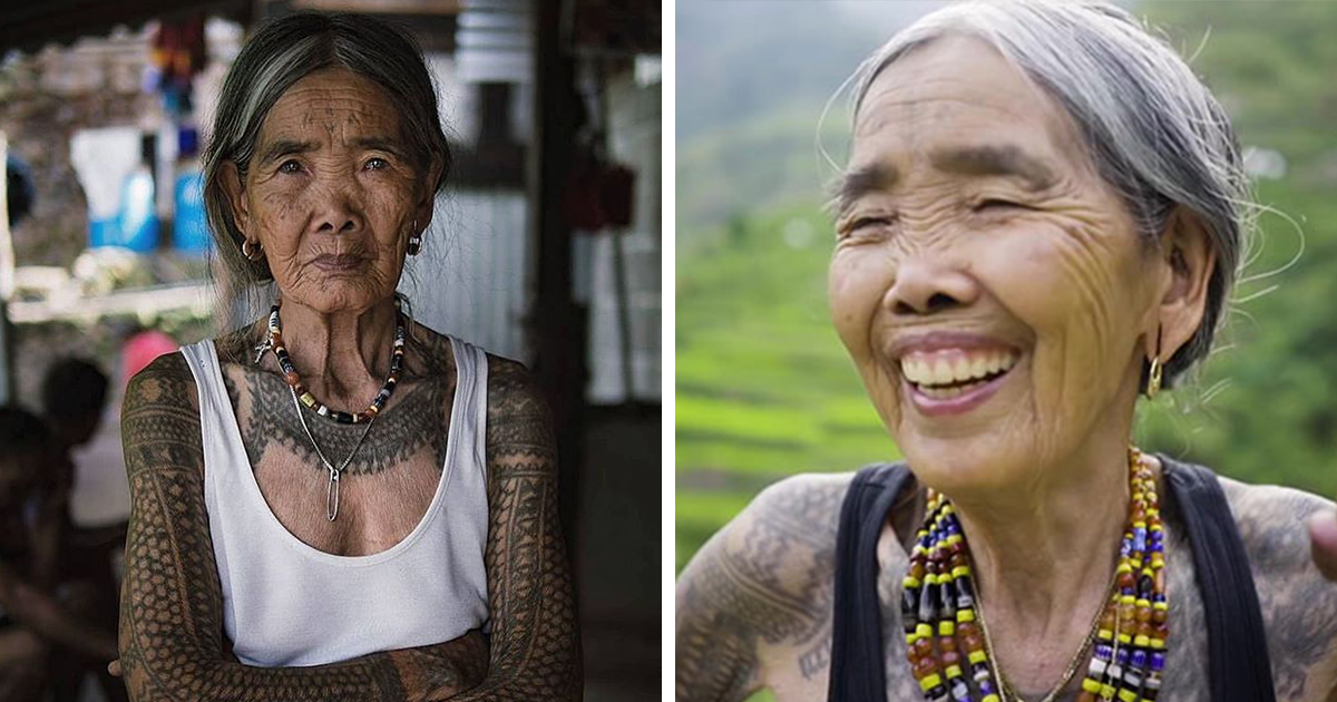 This 103-Year-Old Tattooist Is Keeping An Ancient Philippine Tattoo Tradition Alive