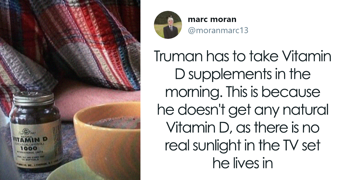 """The Truman Show Is Filled With A Crazy Amount Of Little Details So Here's A Thread Of Some Of My Favorites"""