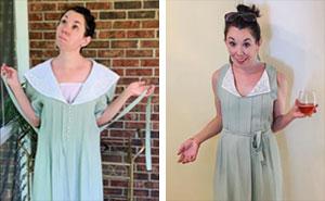 Esta mujer transforma ropa de segunda mano en un elegante vestuario (30 fotos)