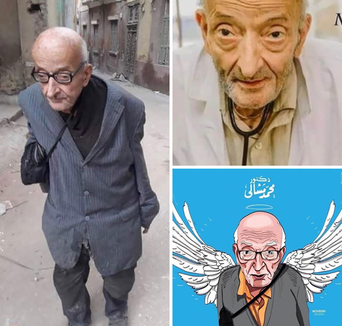 "Dr. Mohamed Mashali Was A Well-Known Doctor Based In The Northern Egypt. He Was Awarded With The Title ""Doctor Of The Poor"" For Serving His Community For Over 50 Years"