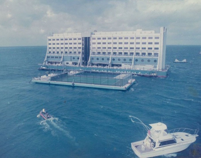 The World's First Luxury Floating Hotel Built In The 1980s For Watching The Great Barrier Reef Ends Up In North Korea