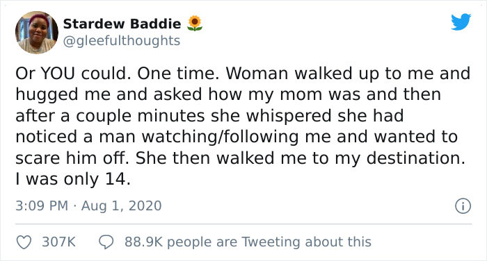 Women Share Times They Were Being Followed And A Stranger Stepped In To Help Them