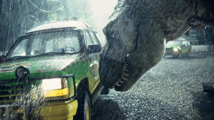 T. Rex Occasionally Malfunctioned, Due To The Rain