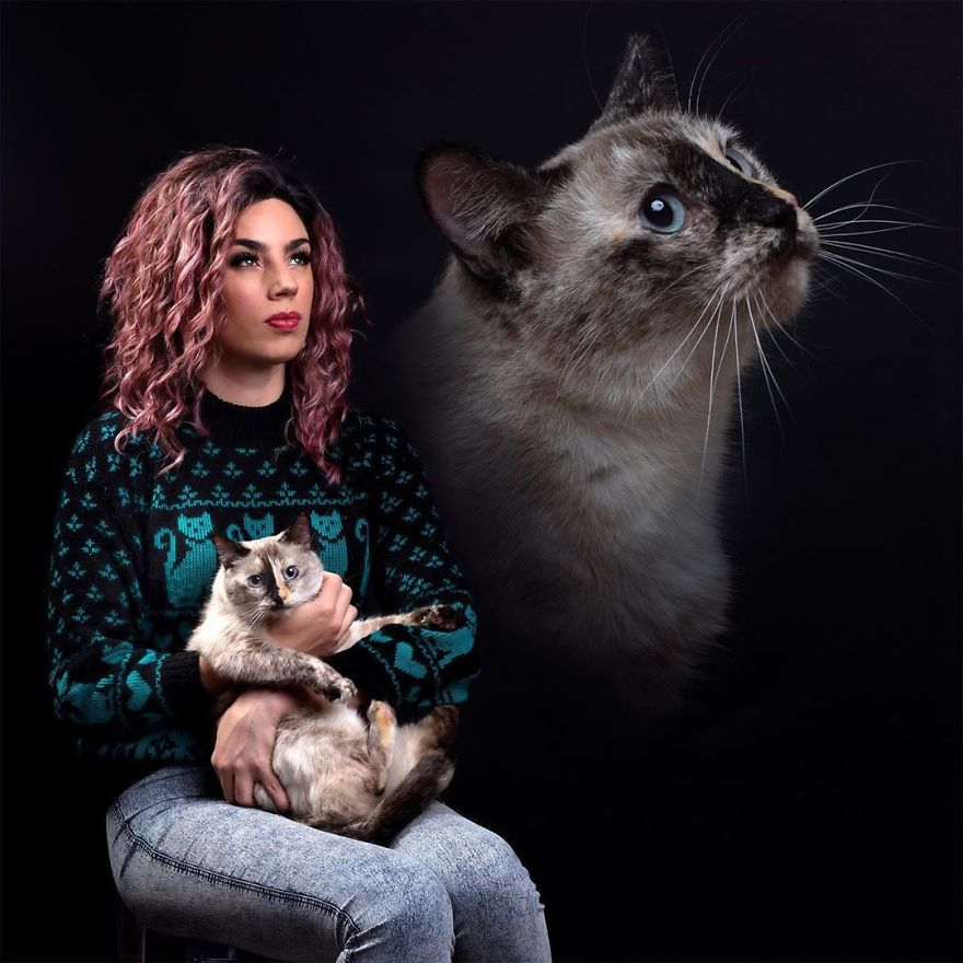 Portraits-Pets-And-Owners-Double-Exposure-Photography-Danielle-Spires