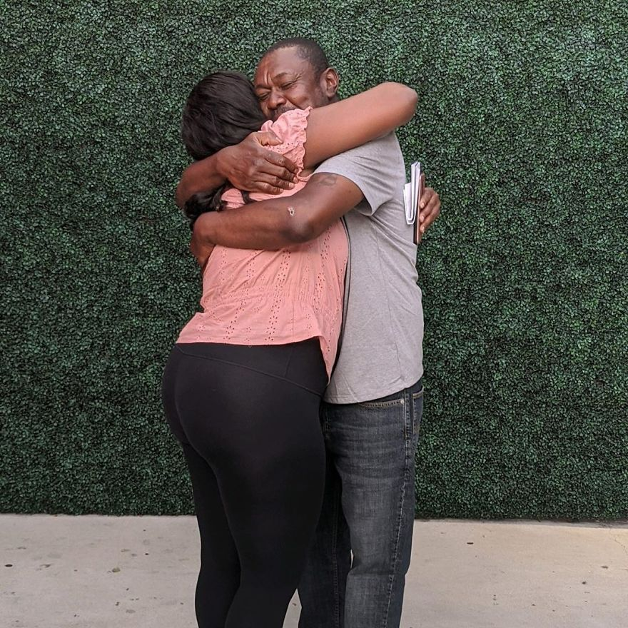 Homeless Person Reunites With His Family After 20 Years, Thanks To This Couple