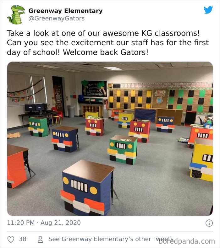 Socially Distanced Classrooms