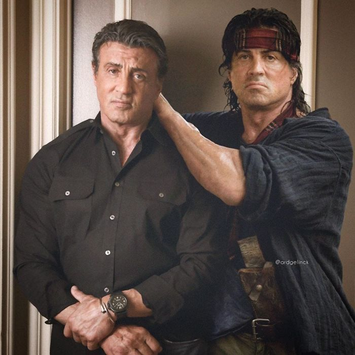 Sylvester Stallone y Rambo