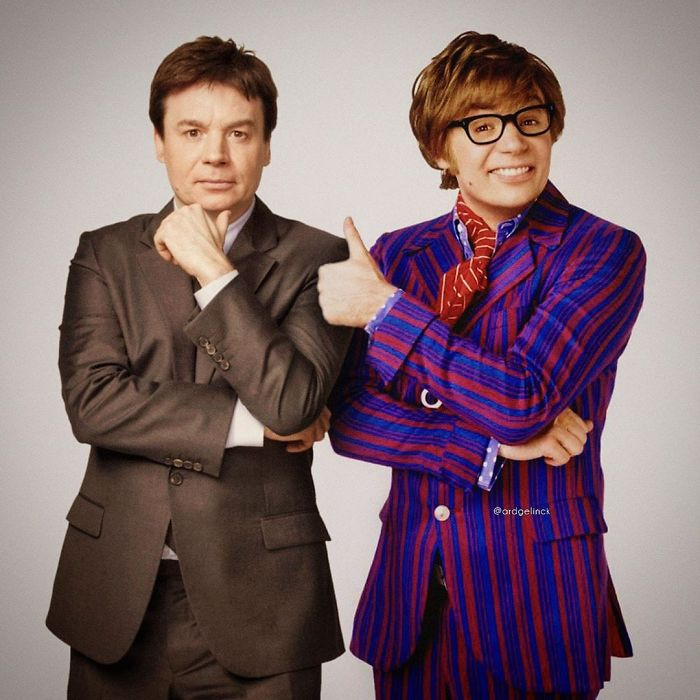 Mike Myers y Austin Powers