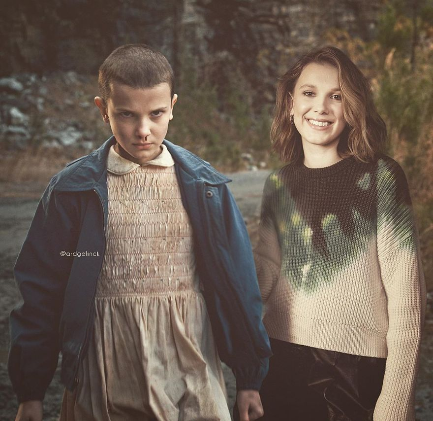 Millie Bobby Brown And Eleven