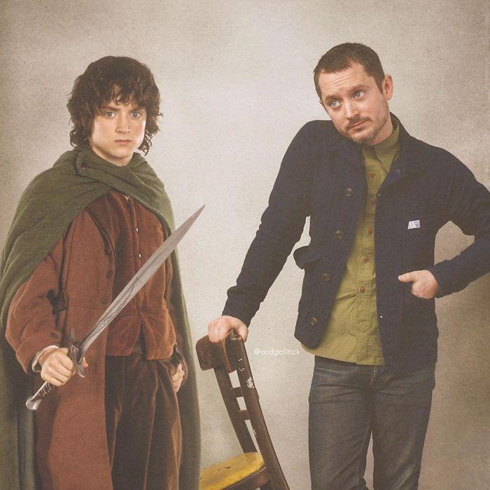Elijah Wood y Frodo