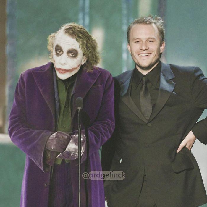 Heath Ledger y el Joker