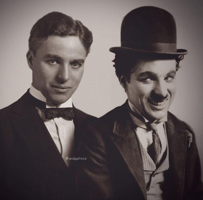 Charlie Chaplin y Charlot