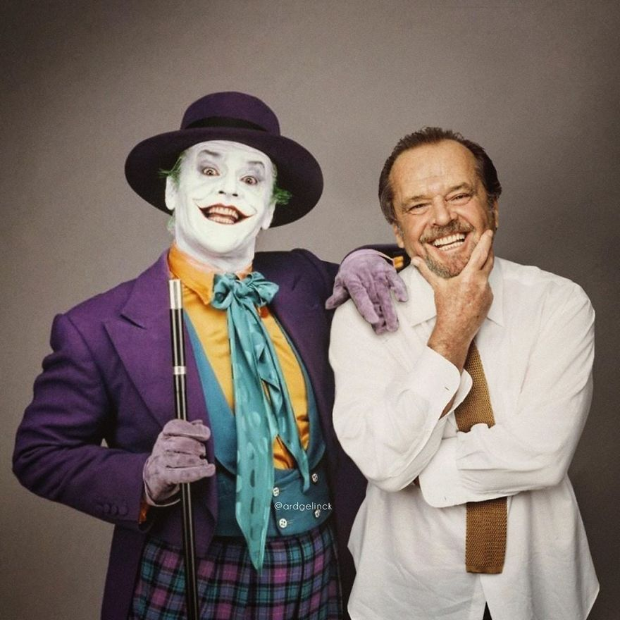 Jack Nicholson And The Joker