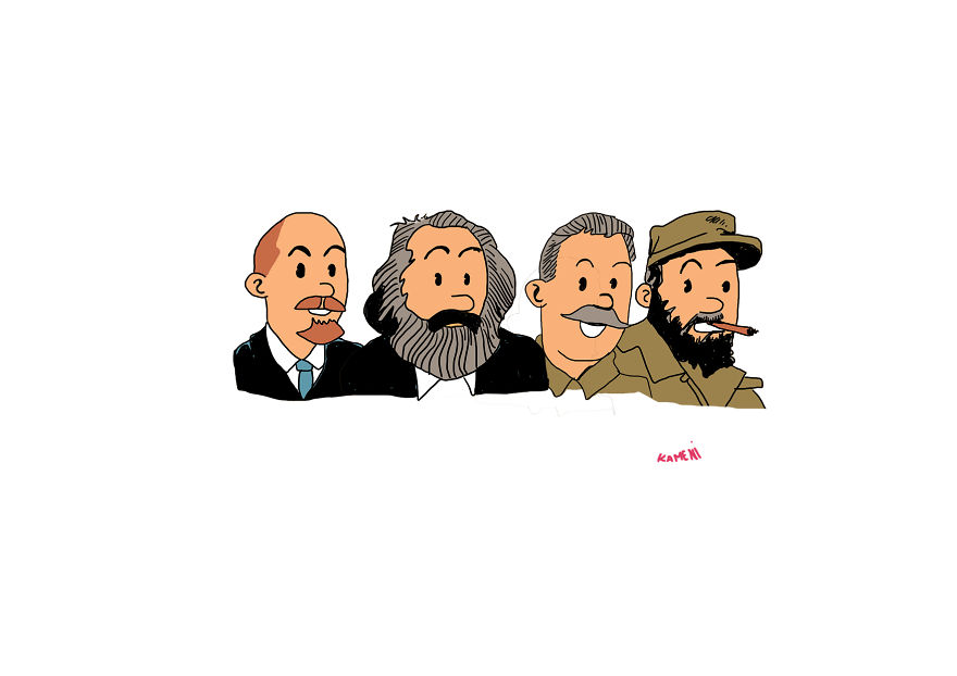 I Draw Cartoon Characters As A Communist