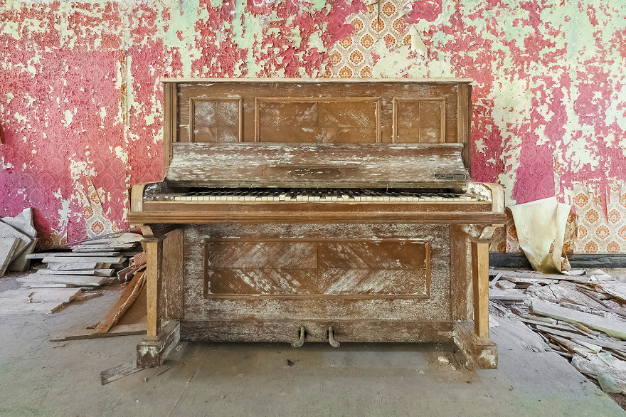 Here Below My Love Nothing Lasts (Abandoned Hotel, Belgium)