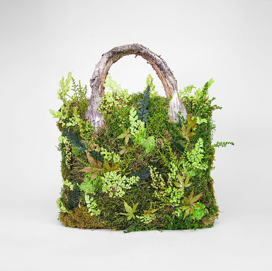 Artist Uses Organic Materials To Make Incredible Sculptures And Installations