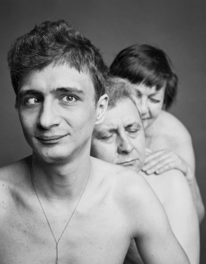 Mom Olga, Dad Vladimir, And Son Bohdan, 26 Years Old, Cerebral Palsy