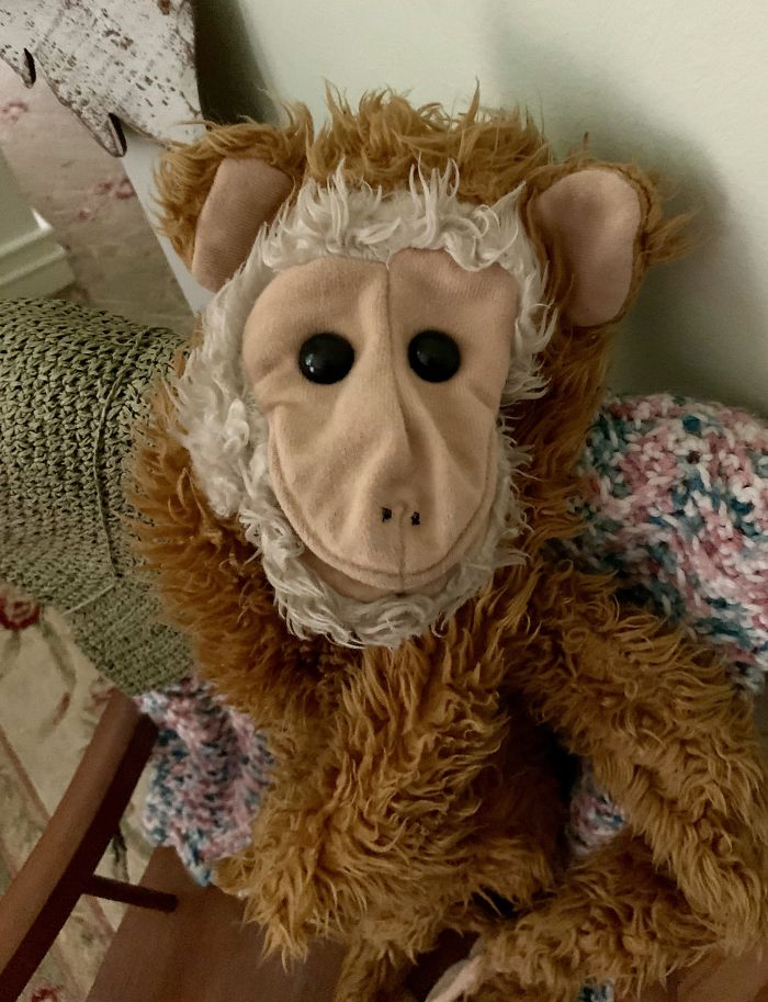 Goo, My Monkey Puppet, Used To Hide With Me When It Was Time To Hide. We've Been Together Nearly 40 Years