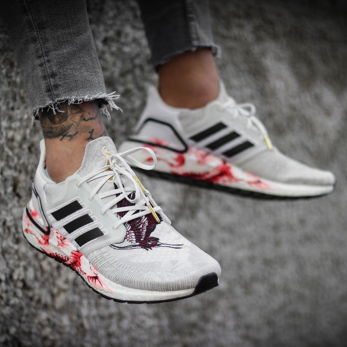 I Get What Adidas Was Trying To Do, But From Any Distance Except Close Up, It Looks Like These Came From A Crime Scene