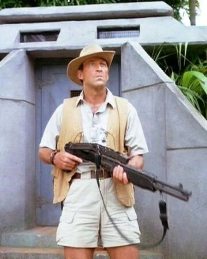 Robert Muldoon Was The Gamekeeper/Head Of Security In Jurassic Park(1993). The Name Muldoon Originates From The Irish Maoldún Meaning Chief Of The Fortress
