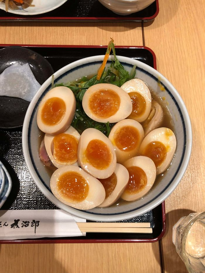 """Can I Get Extra Egg?"" In Tokyo, Japan"