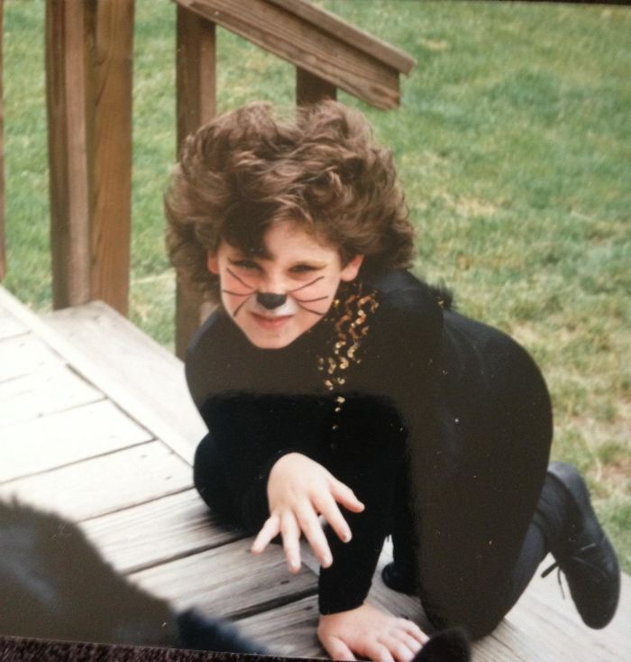 'How Did You Know I Was Gay?' Said The Posing Seven Year Old Boy In Make Up, A Perm, And Black Sequinned Jellicle Cats Dance Costume