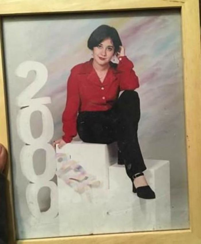Me At Age 15, Channeling My Inner 30something Business Woman
