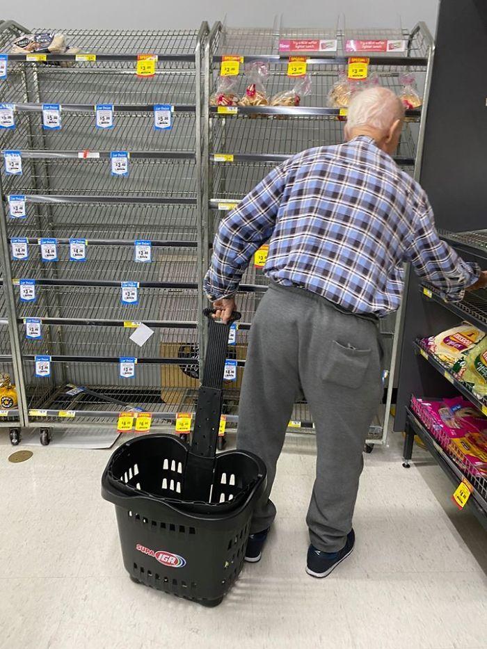 Qué podría salir mal si acaparas los productos del supermercado
