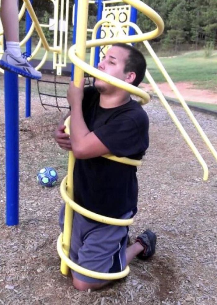 What Could Go Wrong If You Think Playgrounds For Kids Are For Adults As Well