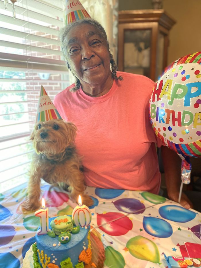 My Grandma Had A 10th Birthday Party For Her Dog