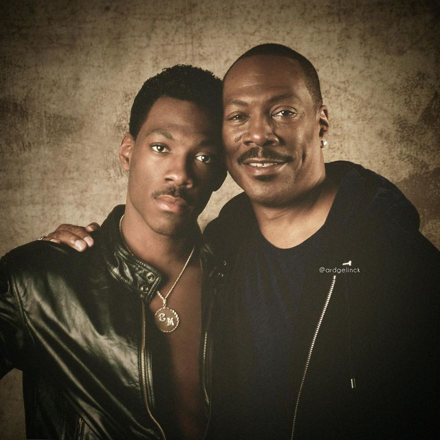 Eddie Murphy And Axel Foley