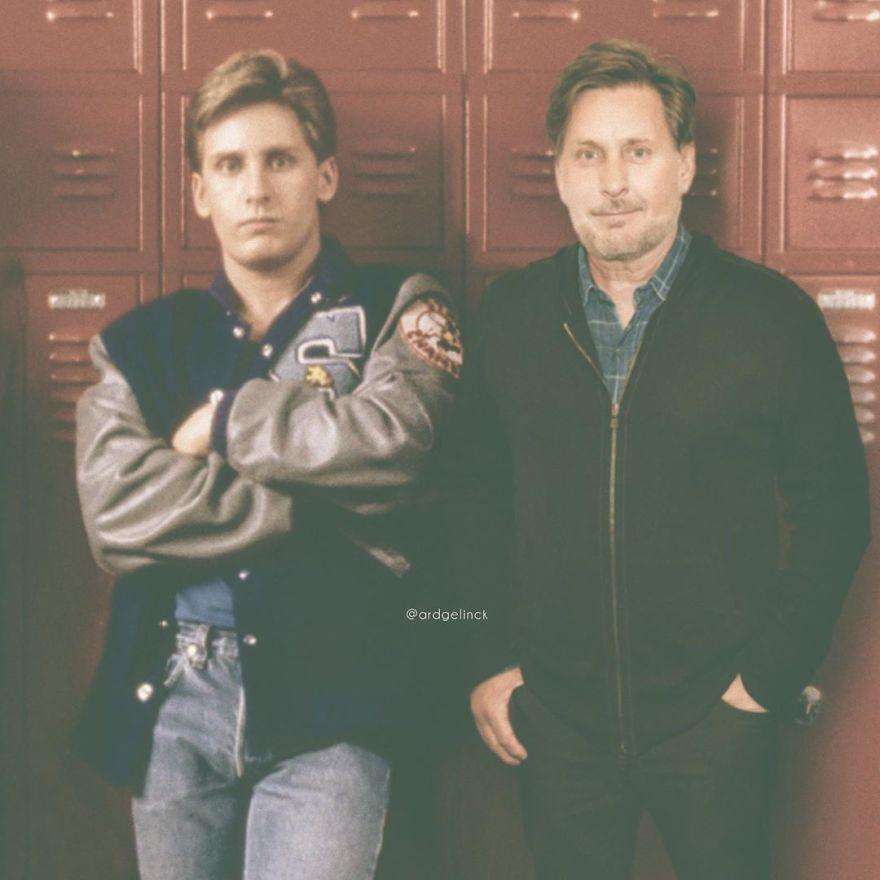 Emilio Estevez And Andrew Clark