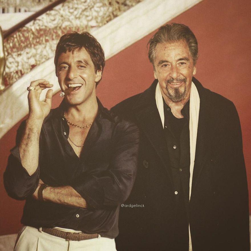 Al Pacino And Tony Montana