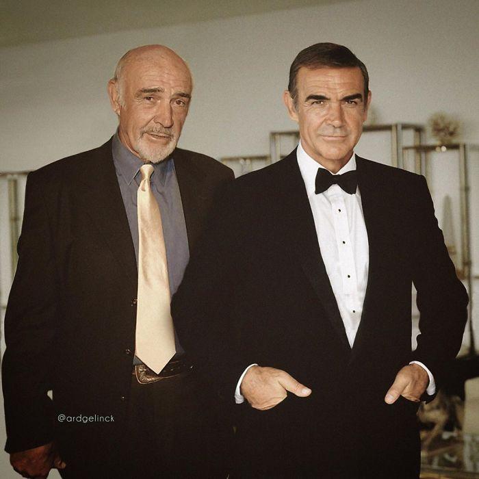 Sean Connery y James Bond