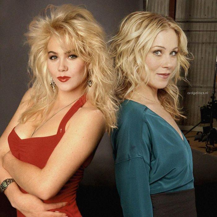 Christina Applegate y Kelly Bundy