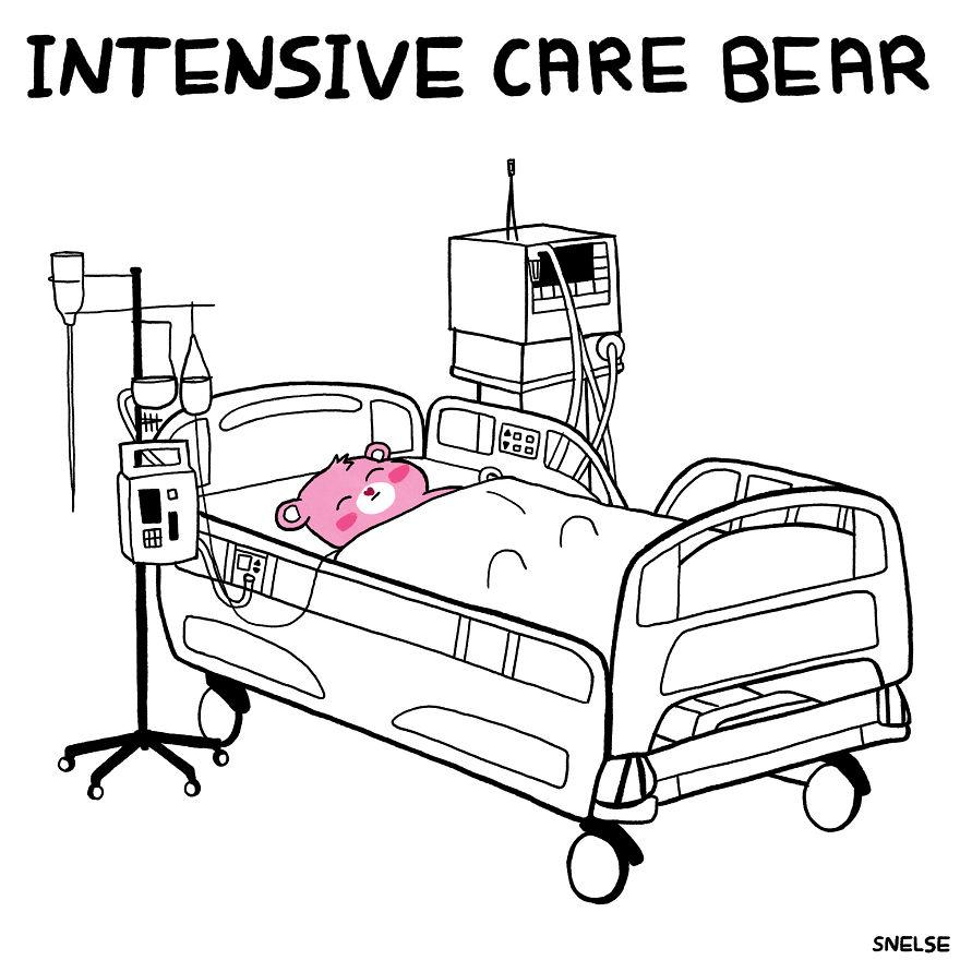 Intensive Care Bear