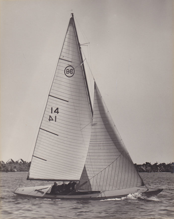 Competitive Sailing, Outside Of Interscholastic Sailing I Race Historic Wooden Boats, This Is Our 81 Year Old Boat Many Many Years Ago, And It Is Currently In Almost Perfect Condition And Is Mostly Original! We Just Re-Varnished The Floorboards A Month Ago And She Sails Fast