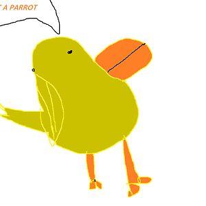 Parrot Person